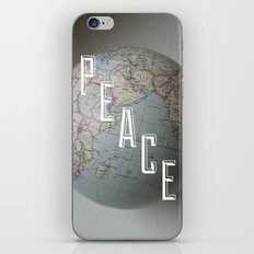 Peace iPhone & iPod Skin