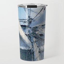 Nautical Sailing Adventure Travel Mug