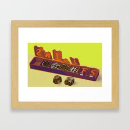 Pill Box Framed Art Print