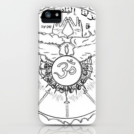 Come Holy Ghost iPhone Case