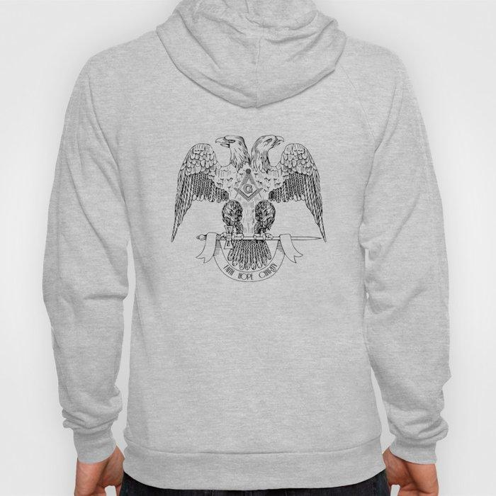 Two-headed eagle as Masonic symbol Hoody