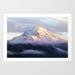 Marvelous Mount Rainier 2 Art Print