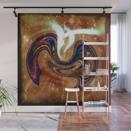 Beginnings: Birth of Twin Planets with Souls Wall Mural