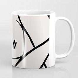 Henri matisse sleeping woman, matisse cut outs, lavender hues Coffee Mug