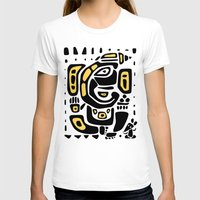 hindu T-shirts featuring Ganapati. Hindu God Ganesha. Hand drawn illustration. by Katyau