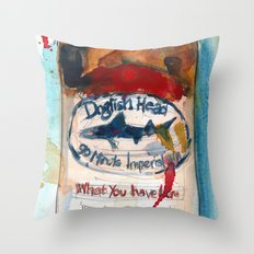 Dogfish Head Brewery - 90 Minute IPA  Throw Pillow