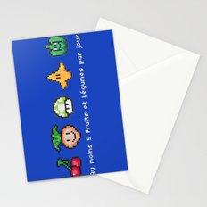 Geek Food Stationery Cards