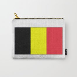 Flag of belgium-belgian,belge,belgique,bruxelles,Tintin,Simenon,Europe,Charleroi,Anvers,Maeterlinck Carry-All Pouch