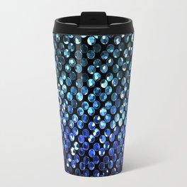 Crystal Bling Strass Blue G312 Travel Mug
