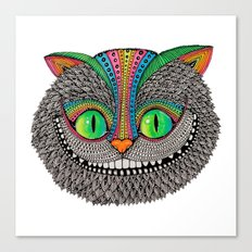 Alice´s cheshire cat by Luna Portnoi Canvas Print