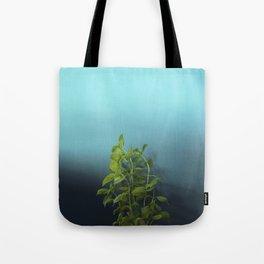 Shy and charming basil Tote Bag