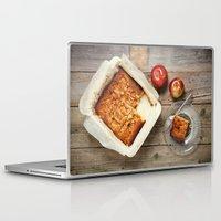 dessert Laptop & iPad Skins featuring Apple Dessert by diane555