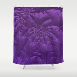 Renaissance Purple Shower Curtain