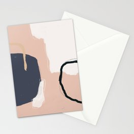 Organic Abstract Stationery Cards
