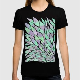 Feathers painting watercolors T-shirt