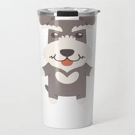 I Just Freaking Love Schnauzers Travel Mug
