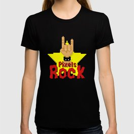 Pixels Rock T-shirt