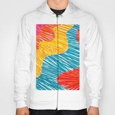 Color waves Hoody
