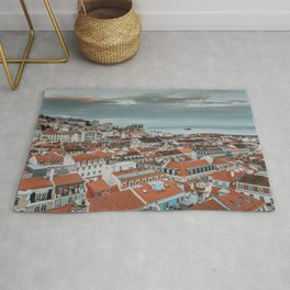 Rooftops of Lisbon Rug