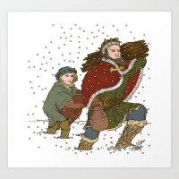 Good King Wenceslaus Art Print