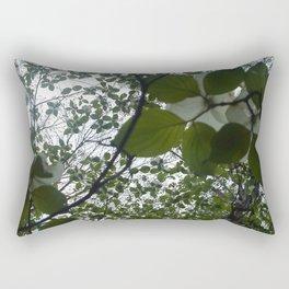 Trail Flowers Rectangular Pillow