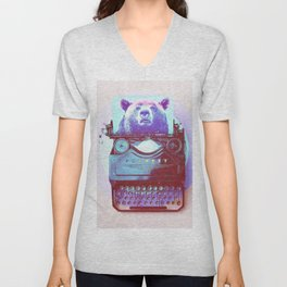 Grizzly writer Unisex V-Neck