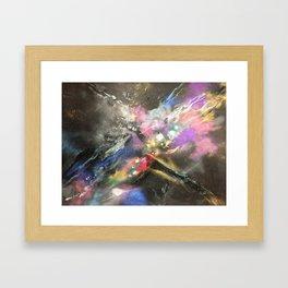 Cosmic Chaos17 Framed Art Print