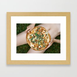 Pizzaland Framed Art Print