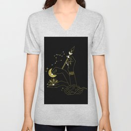 The Goddess Hands Unisex V-Neck