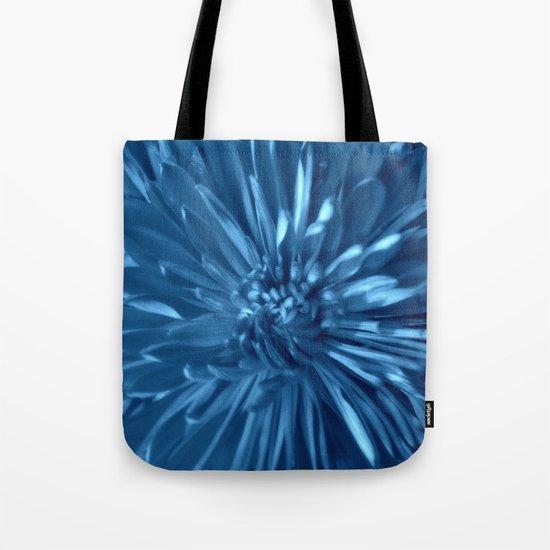 Flower | Flowers | Sky Blue Mums Tote Bag