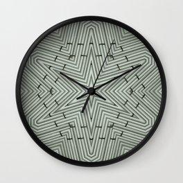 Bamboo Star Wall Clock