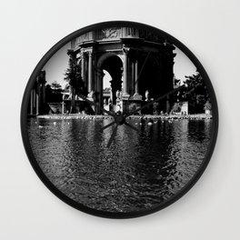 San Francisco - Art Palace Wall Clock