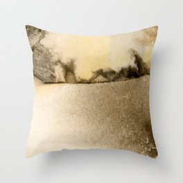 A Serene Life 1D - by Kathy Morton Stanion Throw Pillow