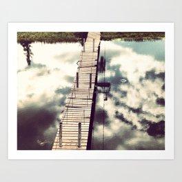 Bridge at Angel Fire Art Print