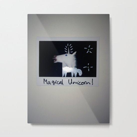 Magical Unicorn! Metal Print