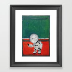 Marvin and Rothko Framed Art Print