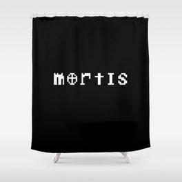 MORTIS Shower Curtain