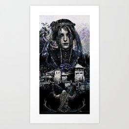 Iris Von Everec - The Witcher Art Print
