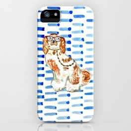 REDHEAD IN GLASSES - right facing iPhone Case