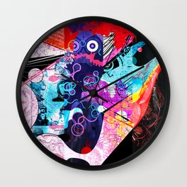 Exquisite Corpse: Round 6 Wall Clock