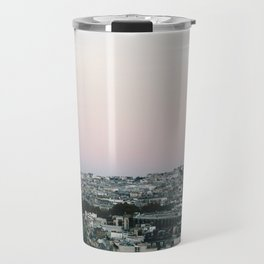 View of Sacré-Cœur from the Arc de Triomphe Travel Mug