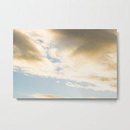 Clouds in November Metal Print