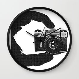 Photographer's Eye  Wall Clock