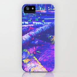 Logs of Colour iPhone Case