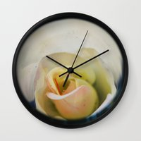 wedding Wall Clocks featuring Wedding by BrightSky