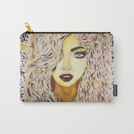 Leopard Girl Carry-All Pouch