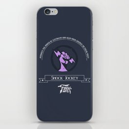 Shock Jockey Vigor iPhone Skin