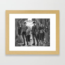 The Hunted series group Framed Art Print