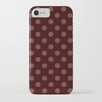 polka iPhone & iPod Cases featuring Polka by Taylor Steiner