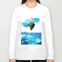 gorillaz Long Sleeve T-shirts featuring Lighthouse by Vadim Cherniy